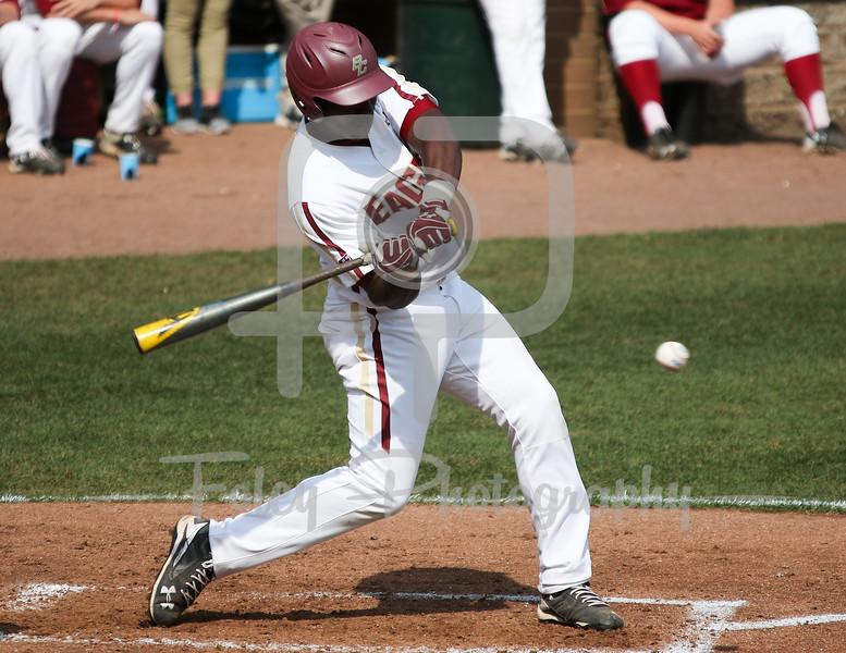Boston College catcher Dominic Hardaway (43)