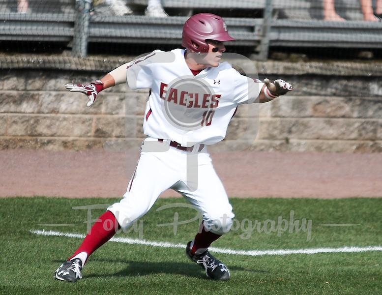 Boston College pitcher Michael Strem (10)