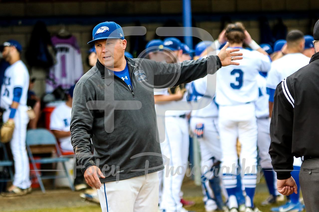 Becker College Hawks head coach Robert McLaughlin