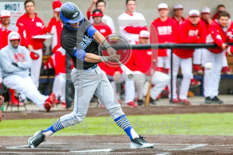Becker College Hawks shortstop T.J. Sempkowski (3)