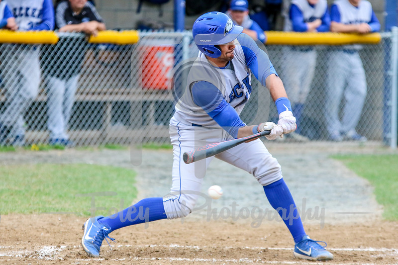 Becker College Hawks catcher Kevin Perez (2)