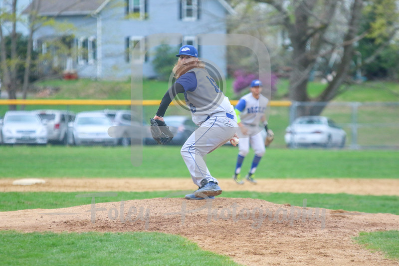 Becker College Hawks pitcher Sean Simas (16)