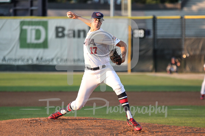 USA Collegiate National Team Jake Irvin (17) of Oklahoma