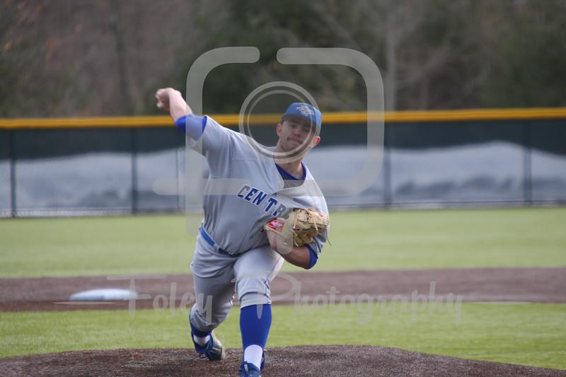 Central Connecticut St. infielder Andrew Hinckley (20)