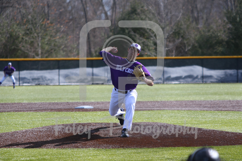 Holy Cross pitcher Pat McGowan (8)