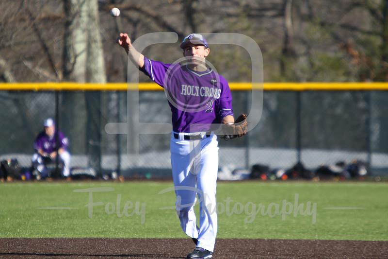 Central Connecticut St. second baseman Dean Lockery (2)