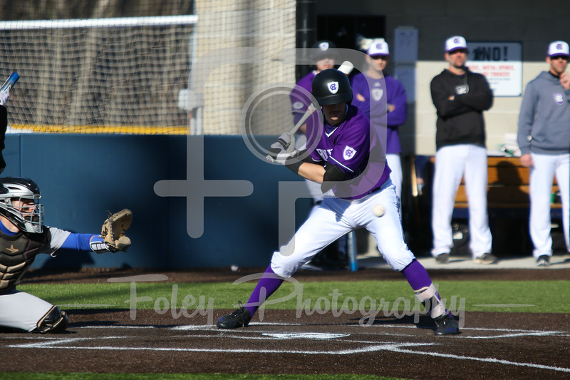 Holy Cross infielder Cam O'Neill (13)