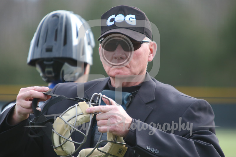 Umpire Don LaValley