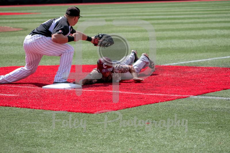 College of Charleston infielder Luke Manzo (1)