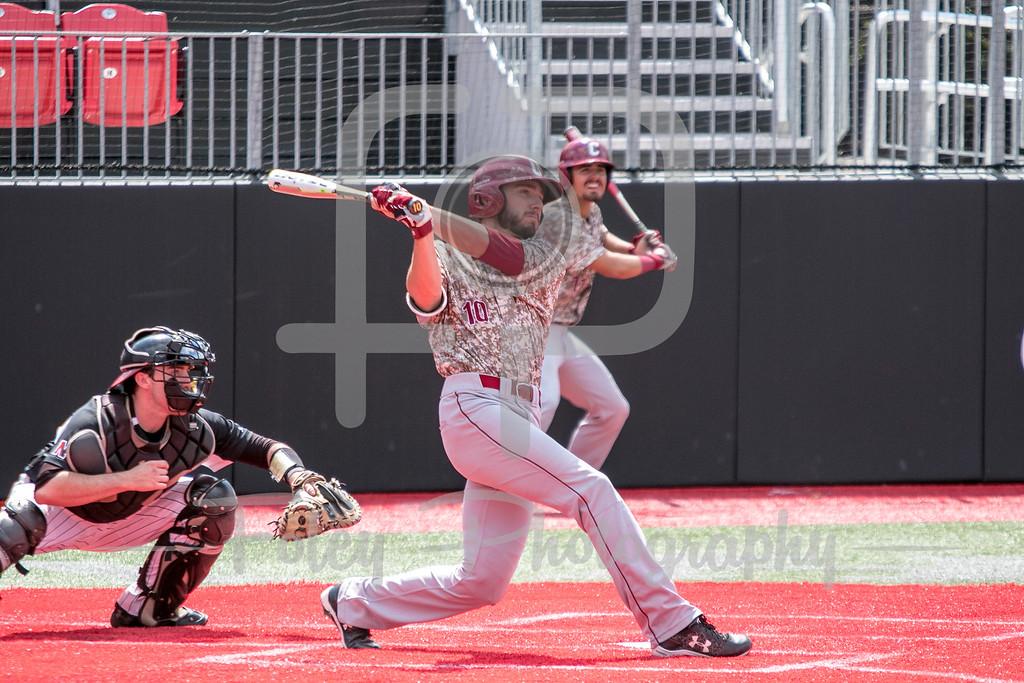 College of Charleston infielder Riley Knudsen (10)
