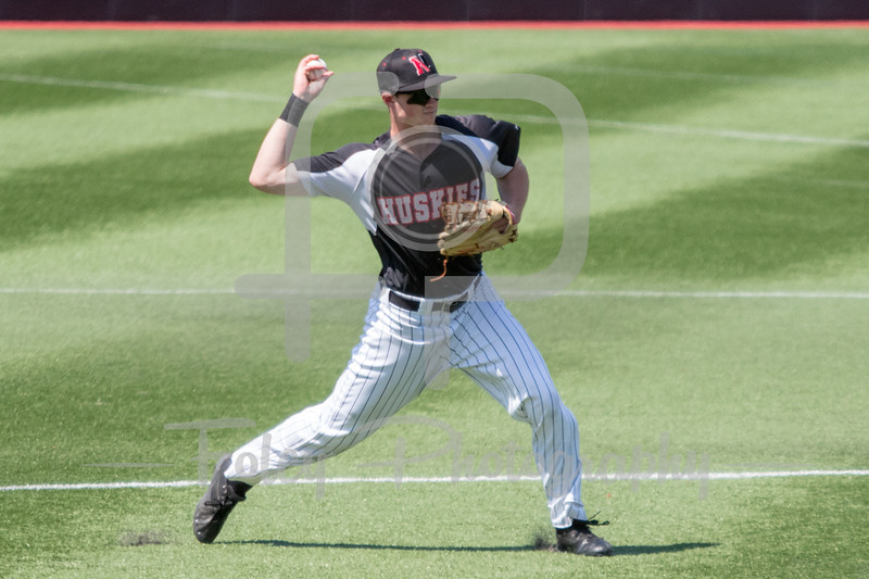 Northeastern Huskies outfielder Jimmy Hand (11)