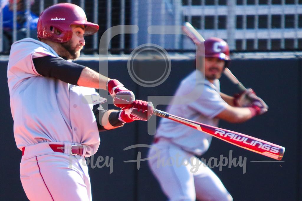 College of Charleston infielder Joey Mundy (40)