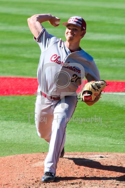 College of Charleston pitcher Tucker White (21)