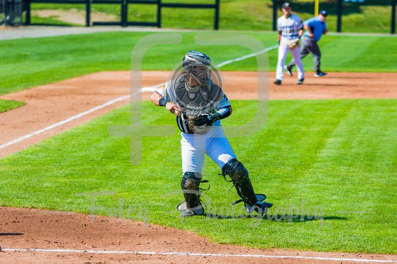 Bryant University Bulldogs catcher Mickey Gasper (7)