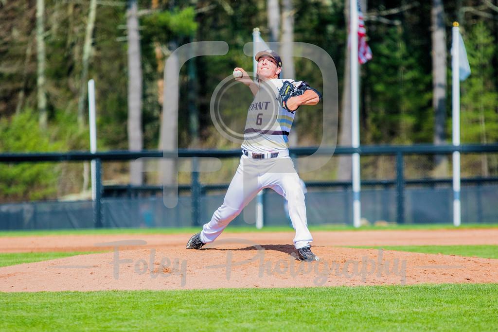 Bryant University Bulldogs pitcher James Karinchak (6)