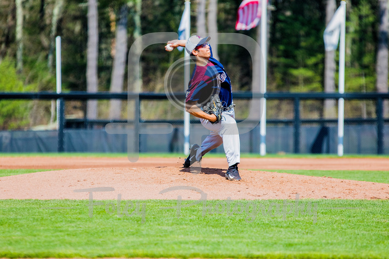 Fairleigh Dickinson Knights pitcher Evan Layne (28)
