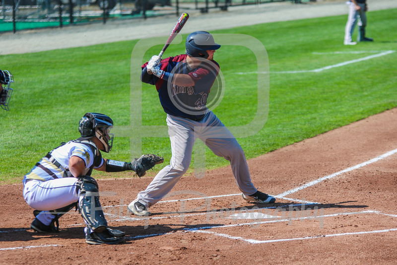 Fairleigh Dickinson Knights third baseman Bobby Romano (30)