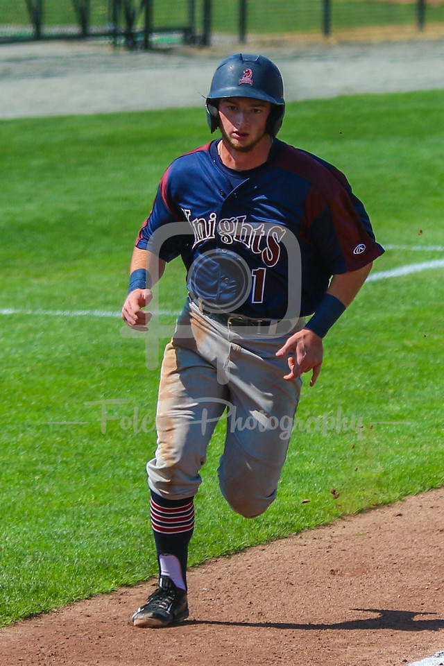 Fairleigh Dickinson Knights infielder Matt McCann (1)