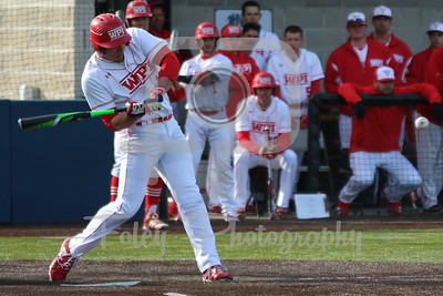 WPI Engineers first baseman Joe Fainer (15)