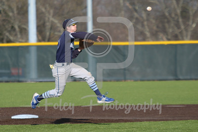 Gordon College Scots third baseman Daniel Quint (11)