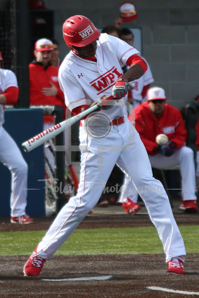 WPI Engineers outfielder Tyrone Patterson (23)