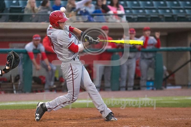 Hartford outfielder Nick Campana (14)