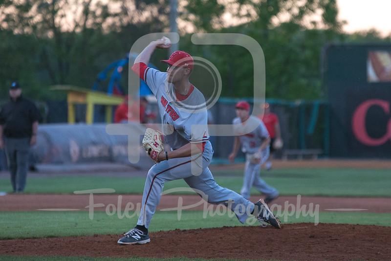 Hartford pitcher Brian Stepniak (39)