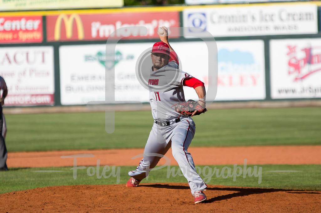 Hartford pitcher Jake Regula (11)