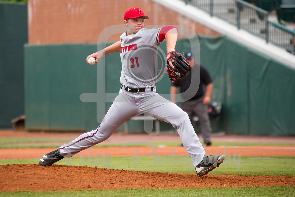 Hartford pitcher Nathan Florence (31)