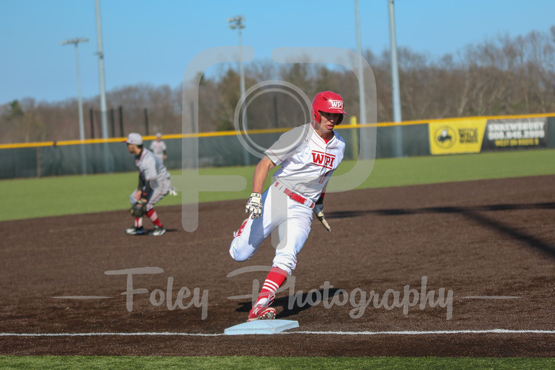 WPI Engineers outfielder Ryan Tropeano (10)