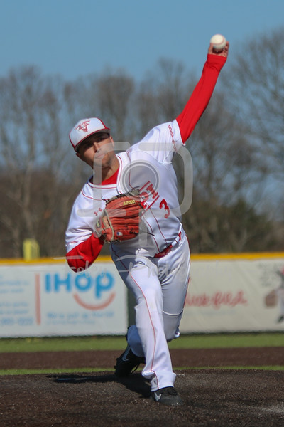 WPI Engineers pitcher Steven D'Agostino (3)