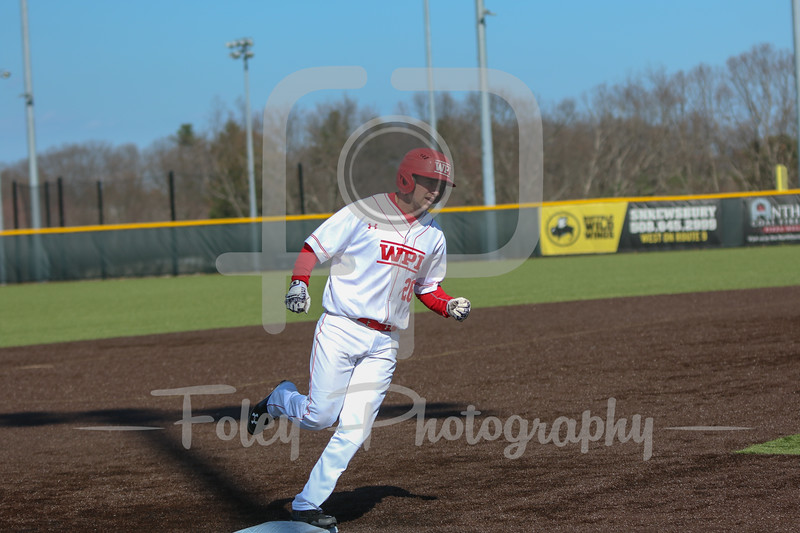 WPI Engineers outfielder Evan Lacroix (26)
