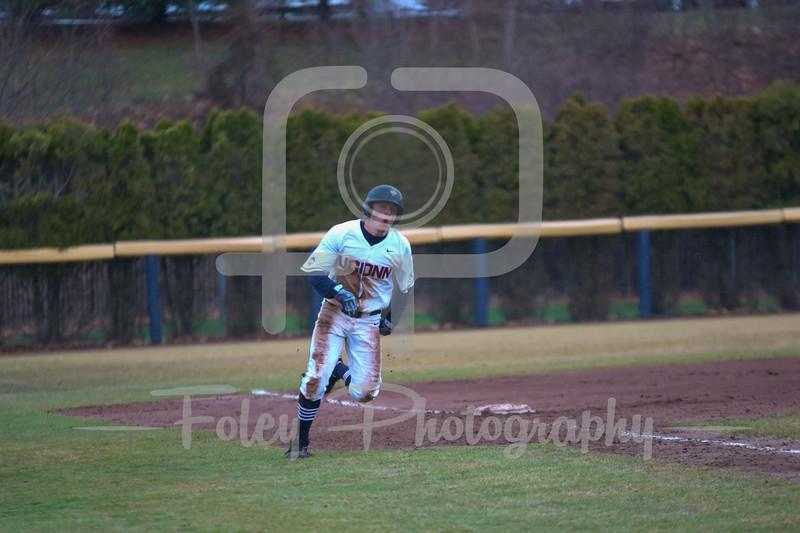 Connecticut Huskies infielder Conor Moriarty (20)