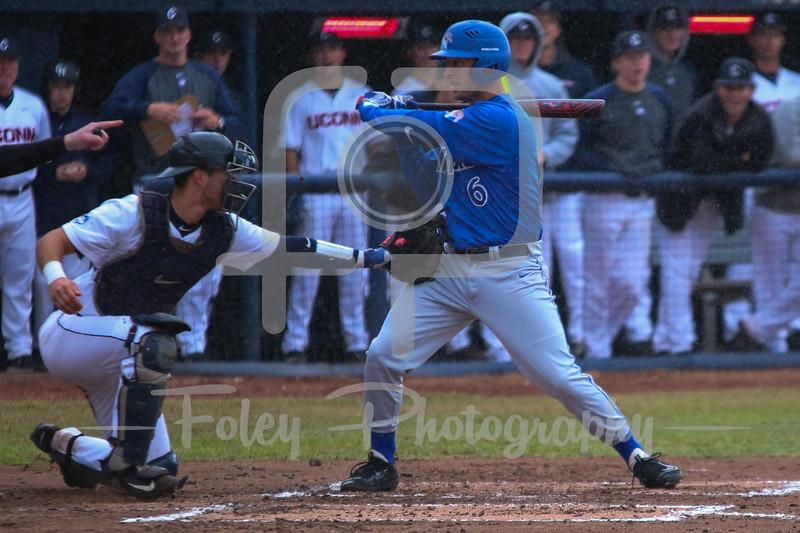 Memphis Tigers infielder Trent Turner (6) Connecticut Huskies catcher Zac Susi (23)