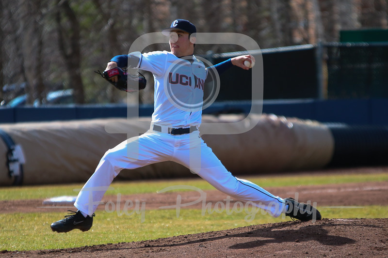Connecticut Huskies pitcher Tim Cate (36)