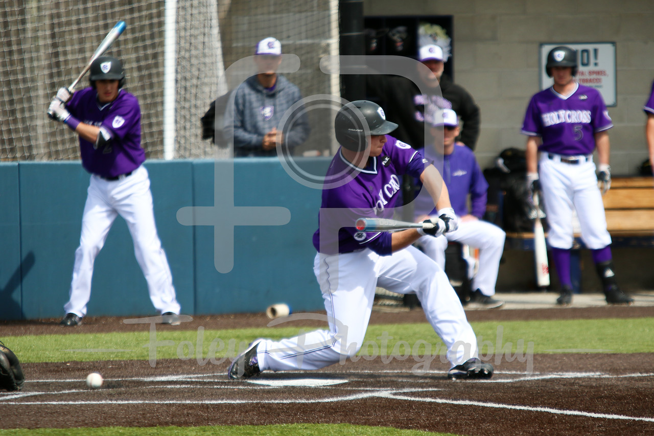Holy Cross Crusaders catcher Alex Voitik (20)