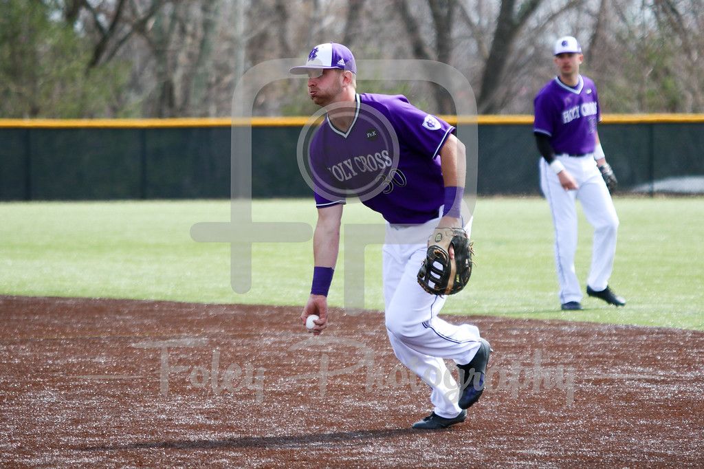 Holy Cross Crusaders infielder Anthony Critelli (30)