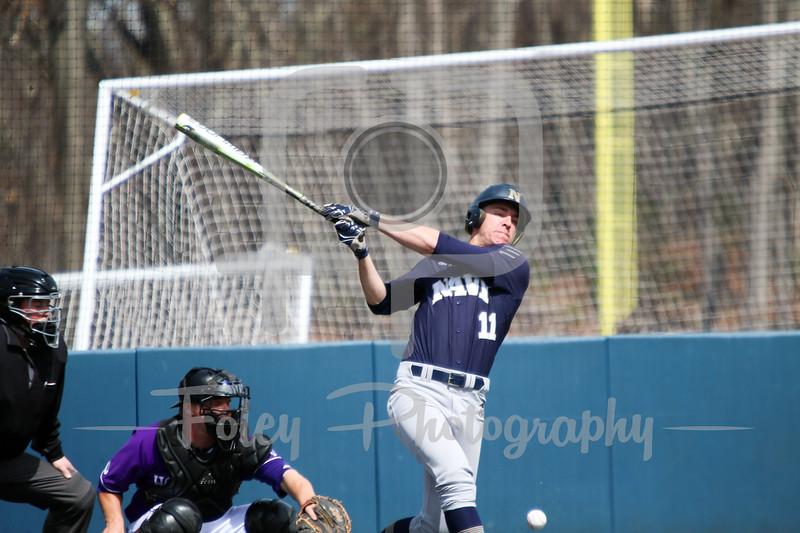 Navy Midshipmen outfielder Evan Lowery (11)