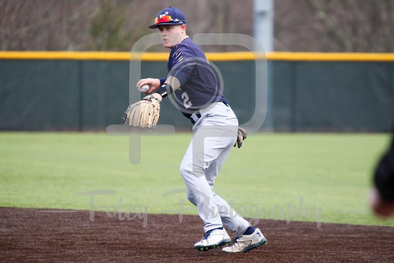 Navy Midshipmen infielder Zach Biggers (2)