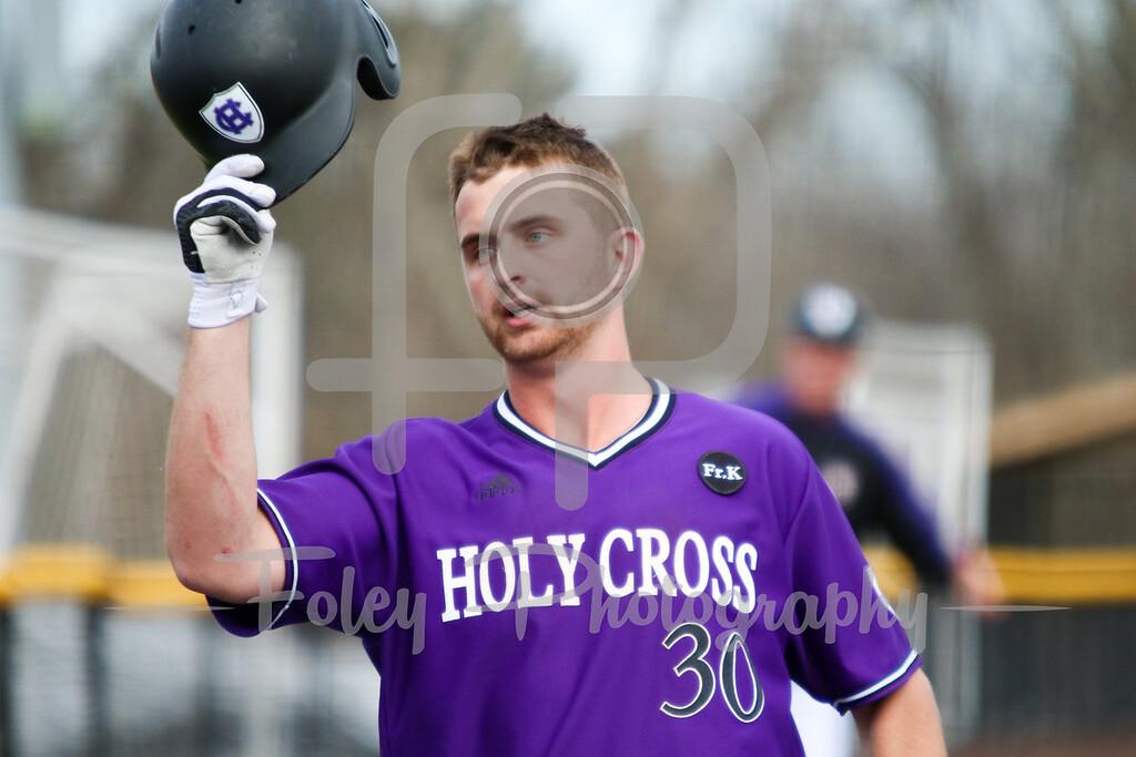 Holy Cross Crusaders infielder Anthony Critelli (30)