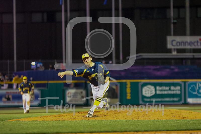 Quinnipiac pitcher Andrew Workman (16)