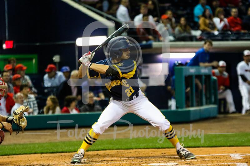 Quinnipiac outfielder Andre Marrero (21)