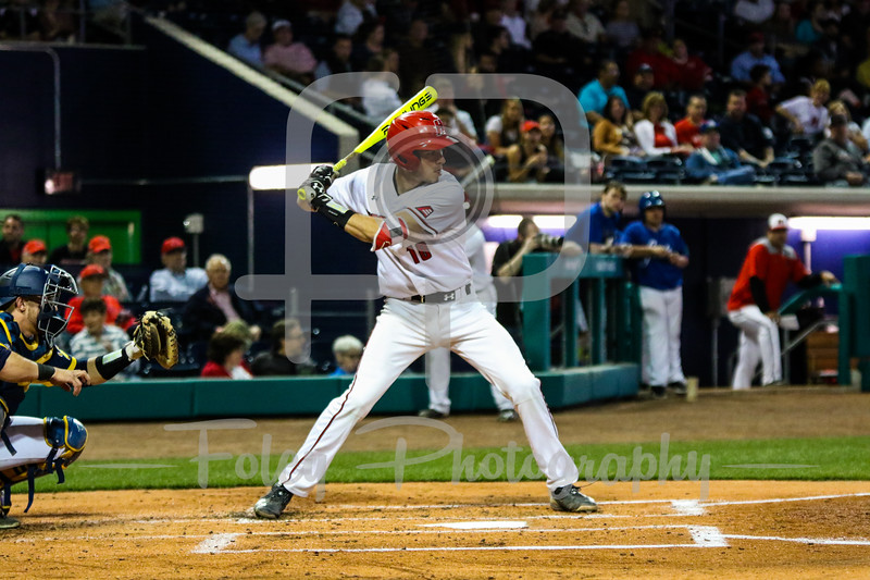Hartford catcher Bryce Ramsay (18)