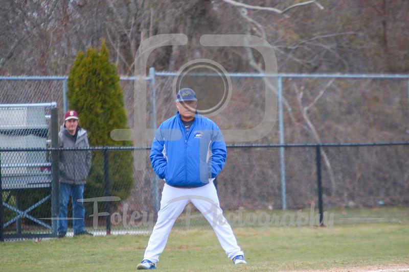 Becker College Hawks head coach Bob McLaughlin