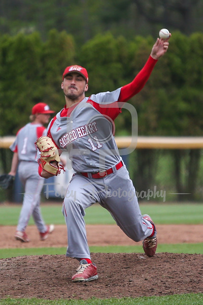 Sacred Heart pitcher Nick Rubino (11)