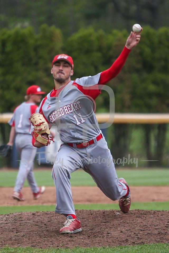 Sacred Heart pitcher Nick Rubino (11)