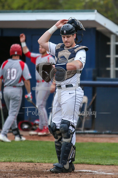 Connecticut Huskies catcher Alex LeFevre (9)
