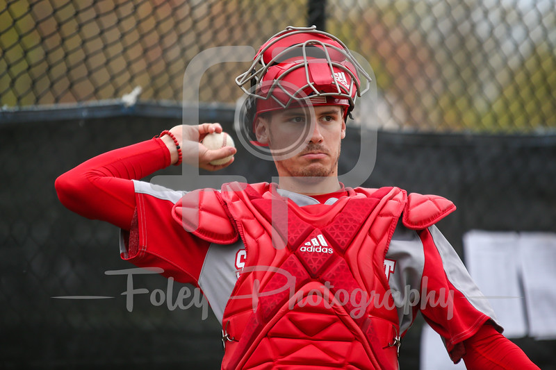 Sacred Heart catcher Brendan Coffey (29)