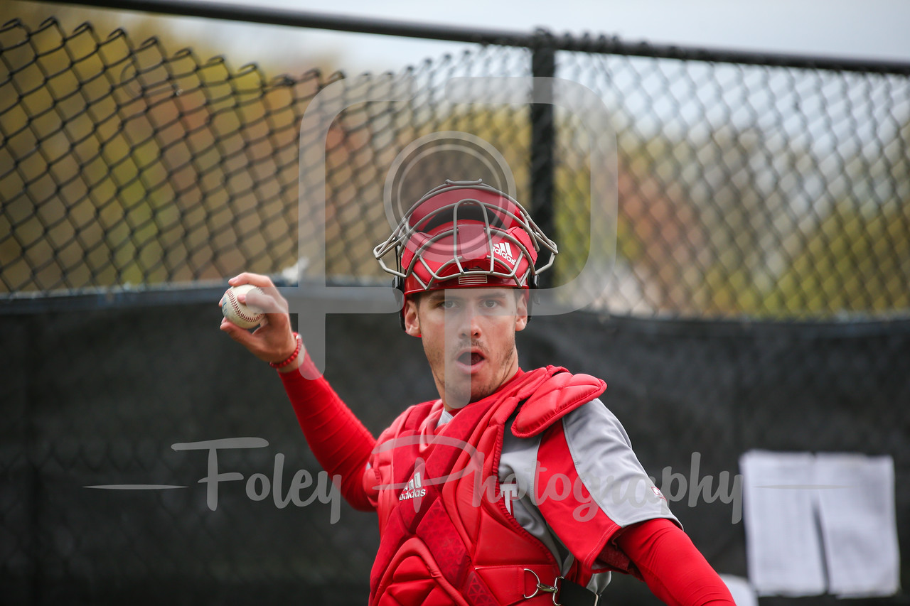 Sacred Heart catcher Brendan Coffey (29)