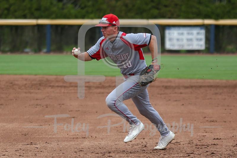 Sacred Heart infielder Keith Klebart (10)